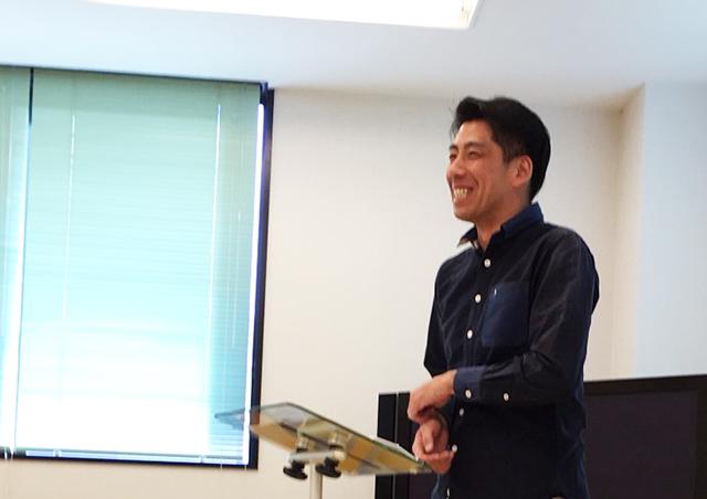 ママさん対象教室講師の三好亮慶先生